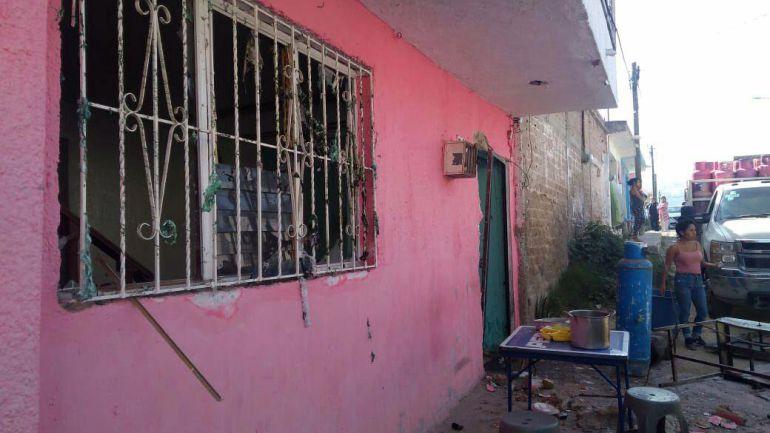 Fuga de gas provoca explosión en una vivienda en Zapopan