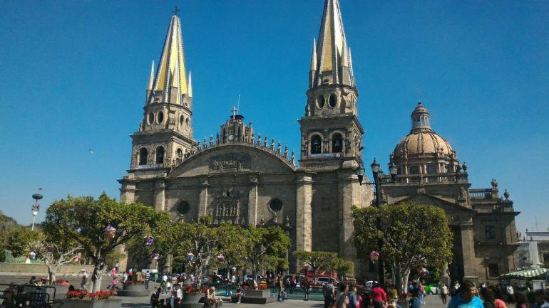 Comienzan restauraciones a la Catedral de Guadalajara