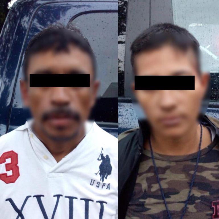 Detienen a dos hombres por robo en Guadalajara