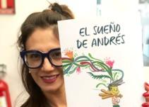 """Los sueños se cumplen, dice Gina Jaramillo en su libro """"El Sueño de Andrés"""""""