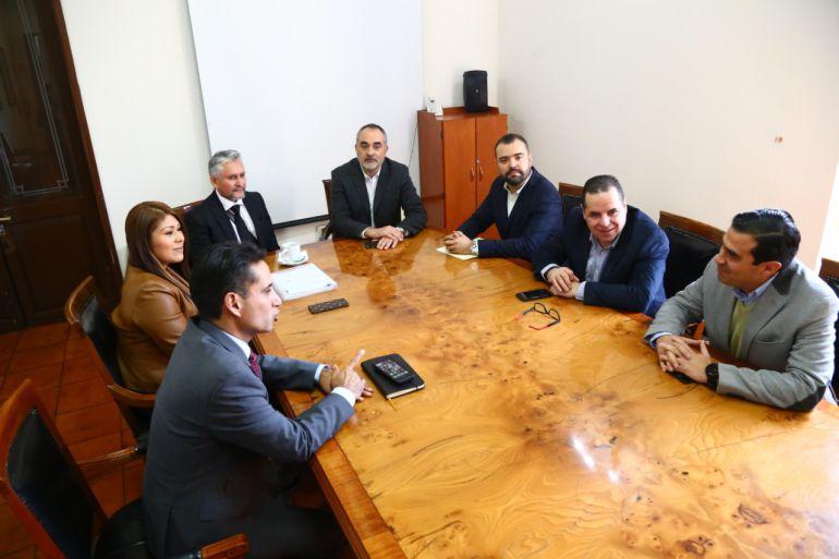 Instalan el Comité de Adquisiciones en el Congreso del Estado