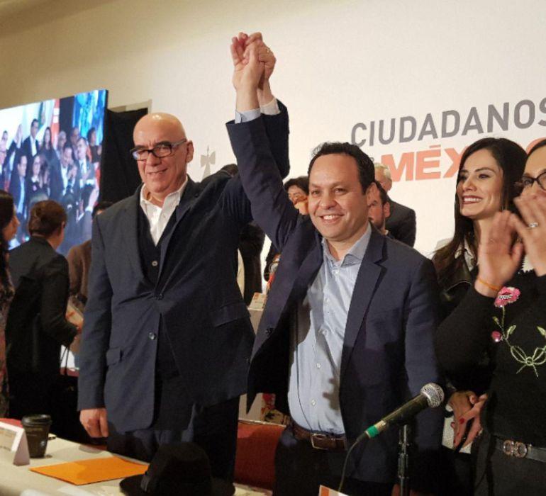 Clemente Castañeda asume el liderazgo de Movimiento Ciudadano