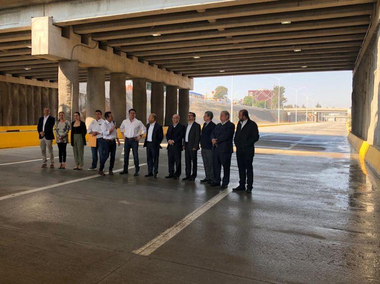 Sin terminar, inauguran el Viaducto Belenes