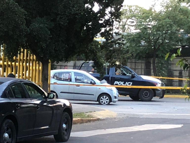 Agreden a tiros a un hombre en Av. Lázaro Cárdenas