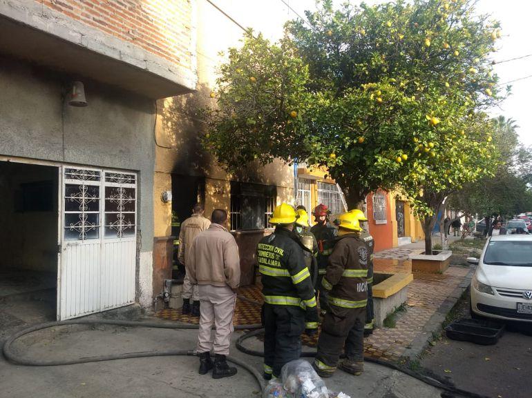 Se registran dos incendios en Guadalajara