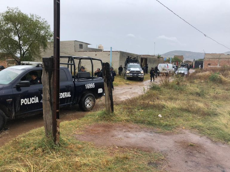 Policía Federal libera a tres hombres secuestrados en Tlajomulco