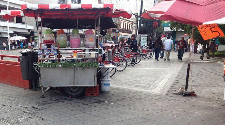 Hay cacería de vendedores ambulantes en Guadalajara