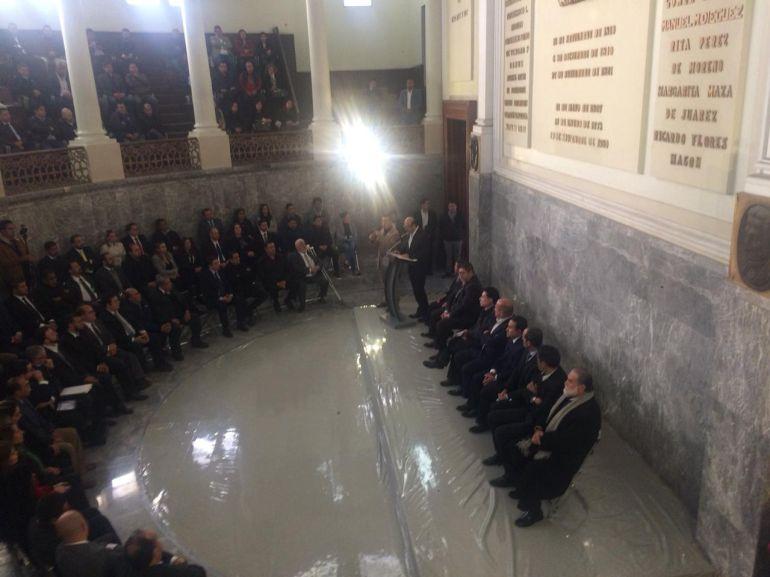Alfaro toma protesta a la Junta Local de Conciliación y Arbitraje