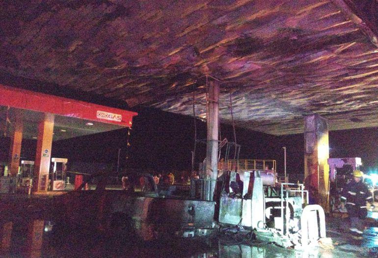 Por cargar bidón, se incendia gasolinera en Ocotlán, Jalisco