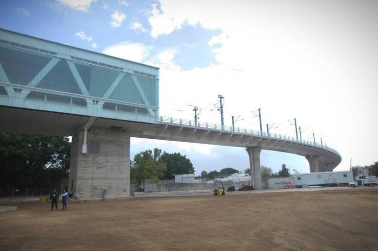 Obras en estación Basílica llevan casi un mes detenidas