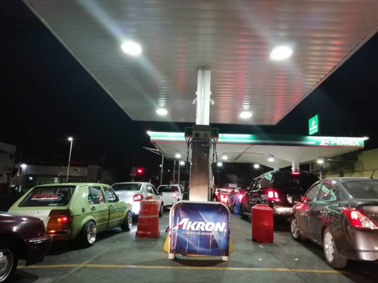 Así el abastecimiento de gasolina en Zapopan