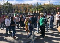 Comerciantes del Felipe Ángeles acusan competencia desleal