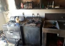 Explota cilindro en La Cima