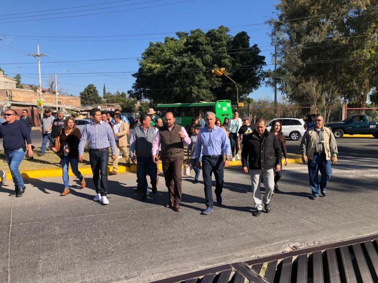 Recorren límites de Guadalajara con Tonalá