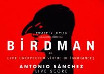Reproyectarán 'Birdman' con música en vivo