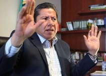 """""""Vamos a luchar por defender este derecho a la gobernatura de Zacatecas"""": David Monreal"""
