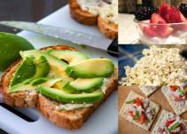 ¿Qué snacks son los que debemos consumir?