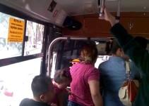 #YoDenuncio: Un autobús de la Ruta 20 que va hacia Milpa Alta permitió que cuatro encapuchados abordaran y nos asaltarán