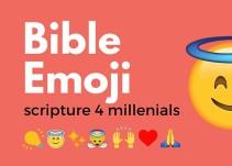 Conoce el libro sagrado de los millennials: La biblia emoji