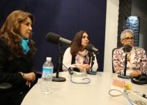 Eugenia León, Tania Libertad y Guadalupe Pineda visitan la cabina de 'Triple W'