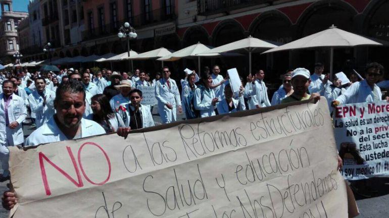 ¿Cuál es el objetivo del movimiento #YoSoyMédico17?