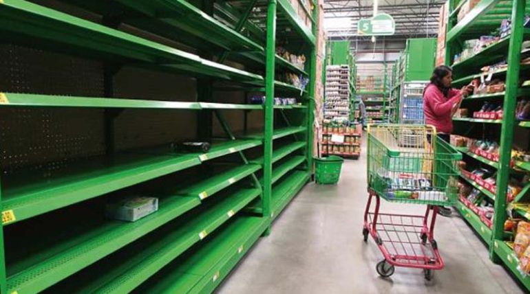 """""""El desabasto de alimentos en Oaxaca es por interrupción en el transporte"""": Meade"""