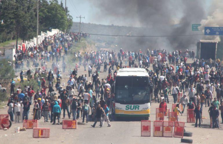 Testigos contradicen la versión oficial de la Policía Federal sobre lo ocurrido en Nochixtlán
