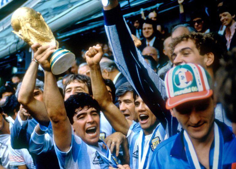 Se cumplen tres décadas del título mundial logrado por Argentina en México