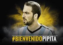 Gonzalo Higuaín ya es jugador de la Juventus