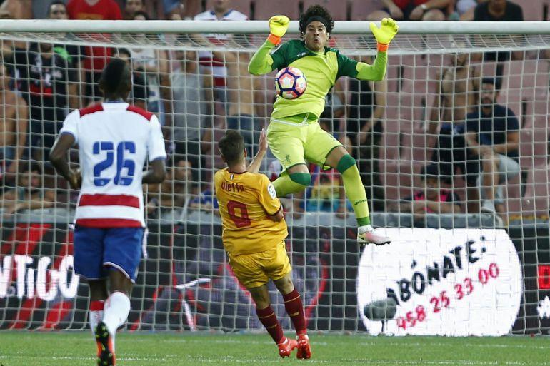 Memo Ochoa jugó sus primeros 90 minutos con el Granada