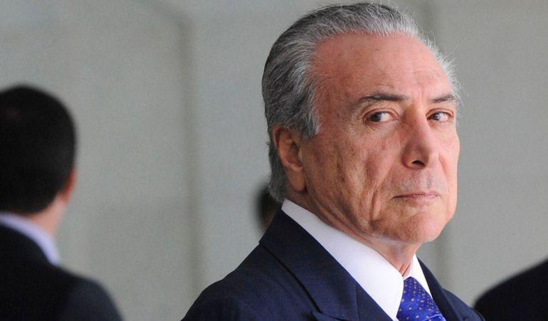 Dudan de legitimidad del presidente interino de Brasil, Michel Temer