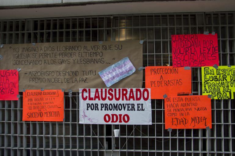 Arquidiócesis declara que la protesta de la comunidad LGBTTTI fue un acto vandálico