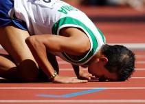 """""""Así Sopitas"""": Atleta paralímpico rompe récord del campeón olímpico en los 1,500 metros"""