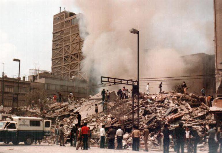 Lo que el terremoto de 1985 dejó . . .