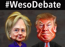 #WesoDebate: ¿Hillary Clinton vs Donald Trump?