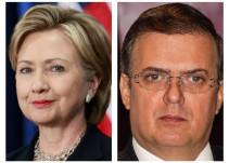 """""""Está muy forzada la comparación entre Trump y AMLO"""": Ebrard"""