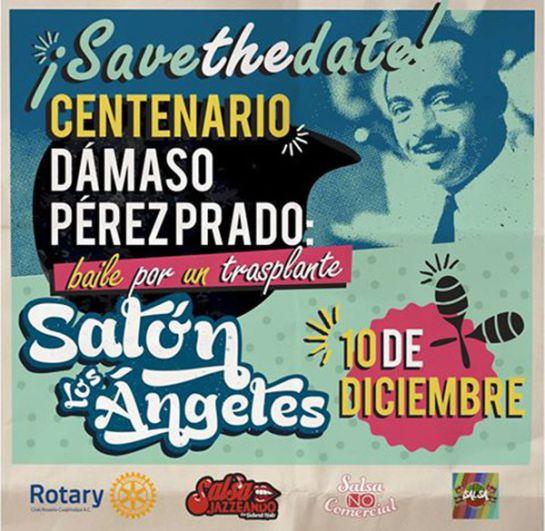 Baila por un Transplante: ¡Asiste al centenario de Dámaso Pérez Prado!