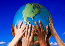 Cría a un niño eco friendly