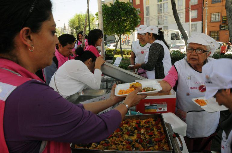 Conoce el trabajo de los comedores comunitarios en la CDMX | El_weso ...