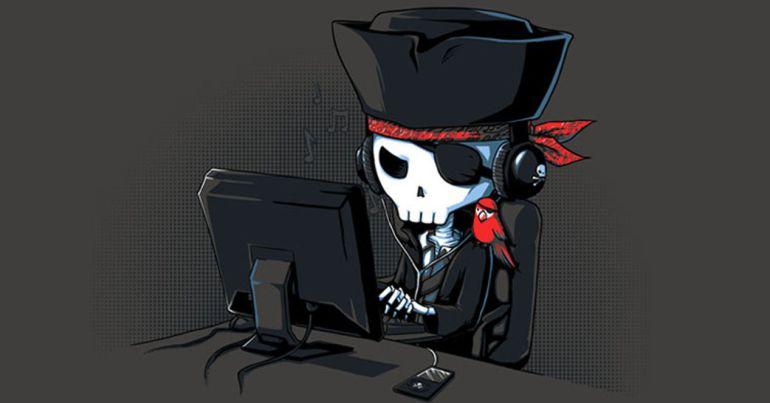 Las consecuencias de consumir piratería