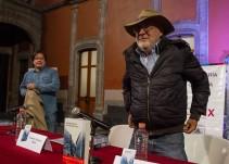 """Javier Sicilia presenta: """"El deshabitado"""""""