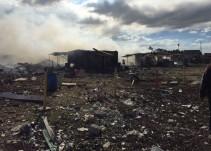 Más de 30 muertos tras explosión en Tultepec