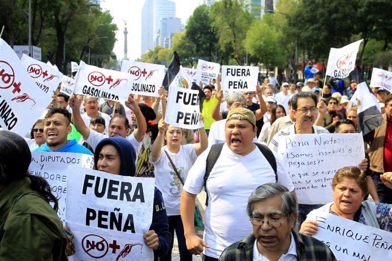 Errores de EPN que provocan descontento en los mexicanos