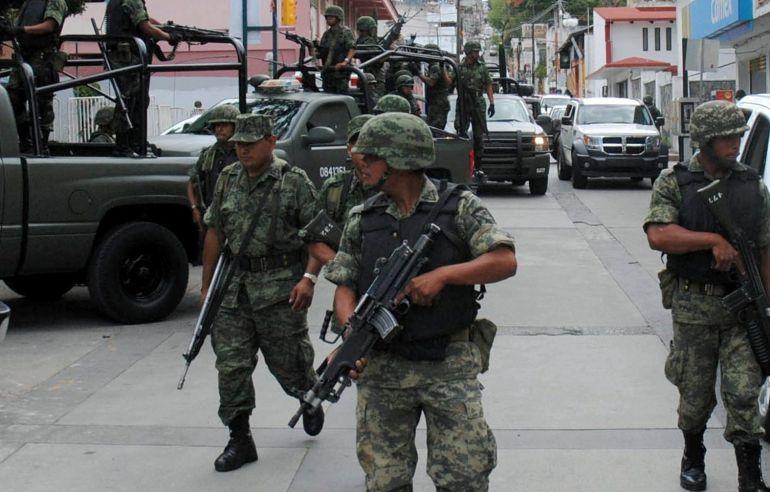 Podría aprobarse ley para militarizar seguridad pública