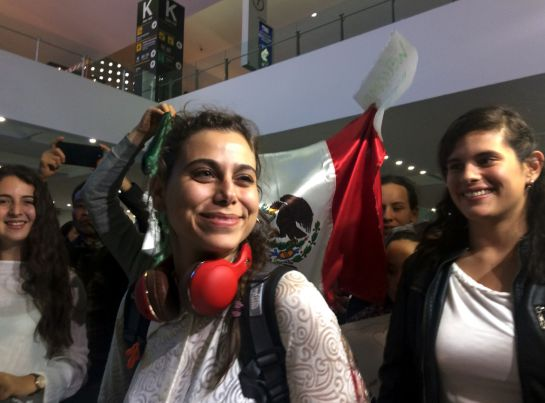 Llega la primera refugiada siria a estudiar en México