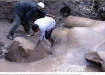 #AsíSopitas: Descubren estatua de Ramsés II en Egipto