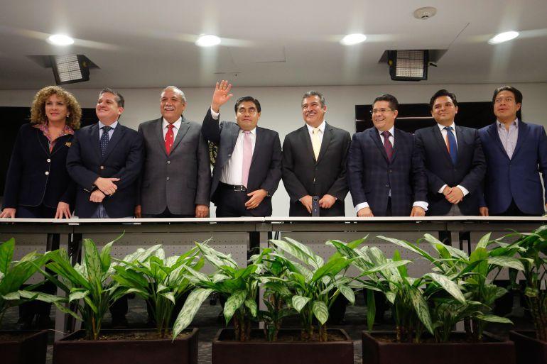 El PRD no actúa con legalidad: Miguel Barbosa