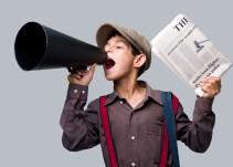 ¡Extra... Extra! ¿Cómo le hacen los voceadores?