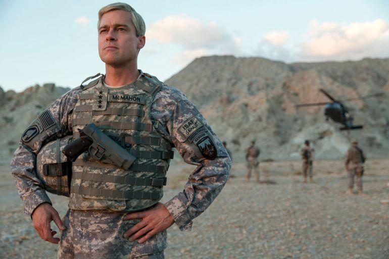 War Machine: una película de guerra, comedia y sátira