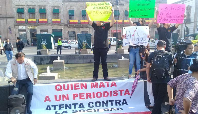Periodistas conforman frente común en Michoacán ante violencia contra el gremio